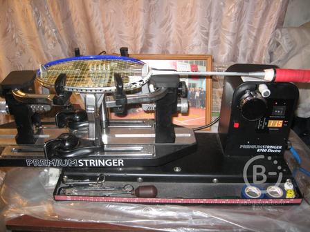 натяжка и ремонт ракеток для бадминтона