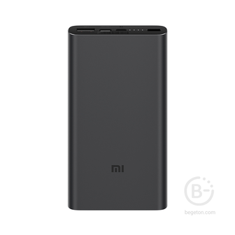 Аккумулятор Xiaomi Mi Power Bank 3 10000 PLM12ZM Dual Fast Charge Version