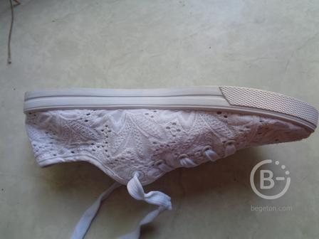 Туфли - кеды (109). Размер 38.