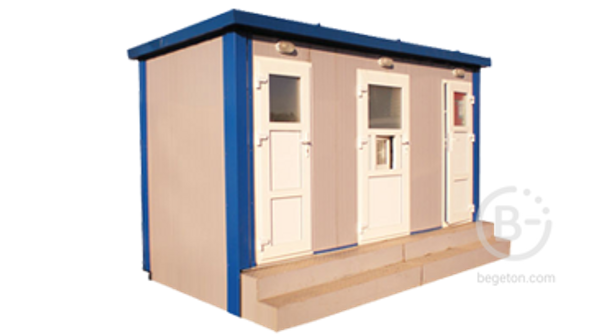 Стационарный туалетный модуль