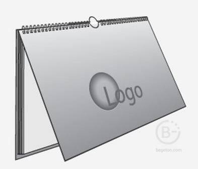 Календарь с фирменной символикой