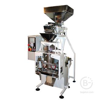 Полуавтомат фасовочный упаковочный бюджетный для сыпучих продуктов