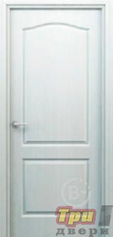 Дверь Палитра глухая белая