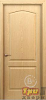 Дверь Палитра глухая светлый дуб