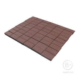 Брусчатка 40мм коричневый