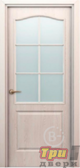 Дверь Палитра остекленная дуб паллада