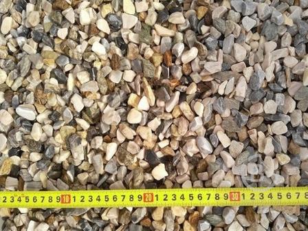 Мраморная крошка — микс галтованная