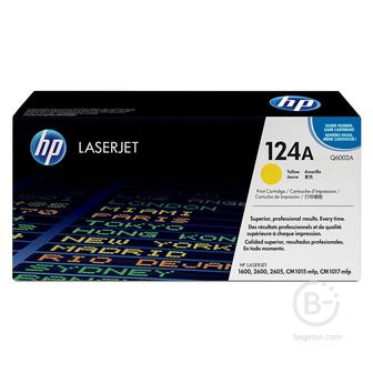 Тонер картридж HP Color LaserJet Q6002A Yellow Print Cartridge
