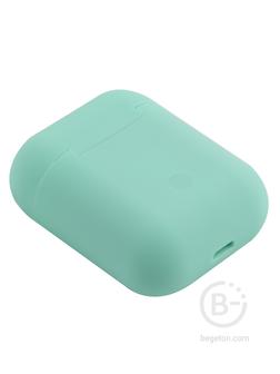 Беспроводные наушники TWS mObility mt 06, soft touch салатовые