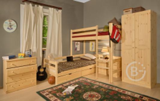 Кровать - чердак №1
