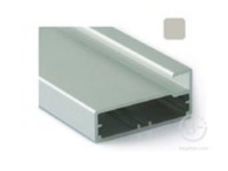 Профиль 45/9 хром полиров., 5800 мм для рамочных фасадов