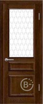 Межкомнатная дверь ПВХ Диана ДО Дуб коньячный