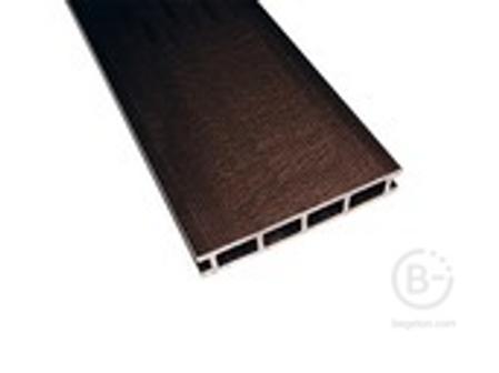 Террасный профиль Комфорт мелкий вельвет венге 25х145х6000 мм (0.87 кв.м.)