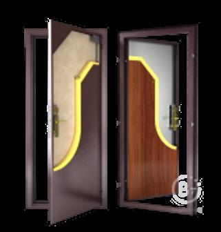 Стальная дверь ДС 1