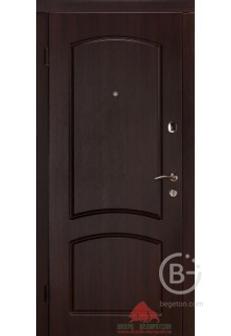 """Входная дверь """"Капри"""" темная вишня ТМ"""