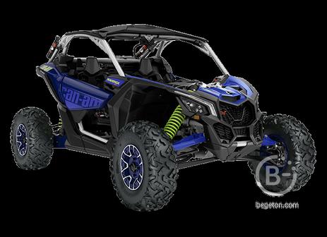 Квадроцикл MAVERICK X RS TURBO RR