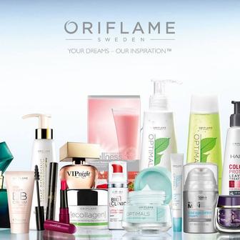 Сотрудничество по онлайн-бизнесу в компании Oriflame