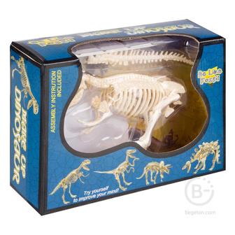 Детали пластиковые для сборки скелета Тиранозавра Рекс