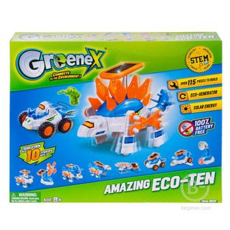 Набор Greenex Зеленая энергия 3 в 1