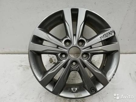 Диск колеса литой Hyundai Elantra 6 R16