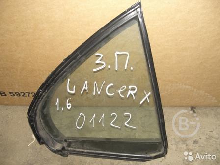 Форточка задняя правая Mitsubishi Lancer X 2007-н.в.