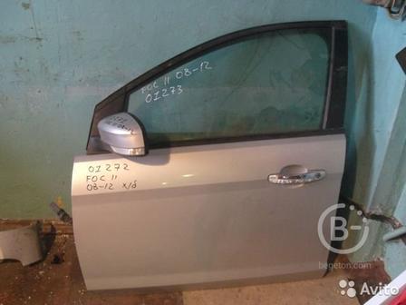 Стекло двери передней левой Ford Focus 2 2005-2008