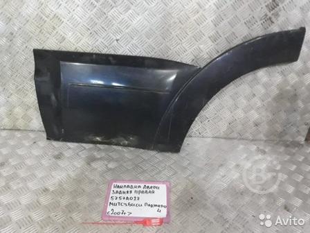 Накладка на крыло задняя правая Mitsubishi Pajero
