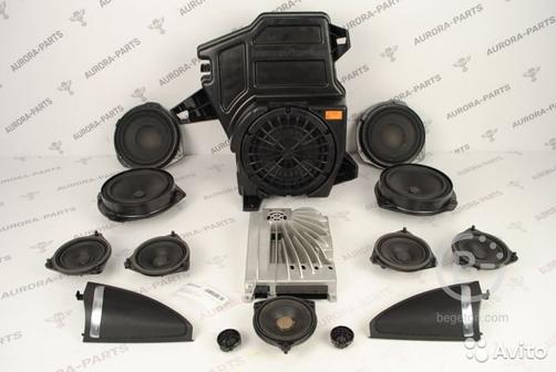 Комплект акустики Mercedes GL-Class X166 2012