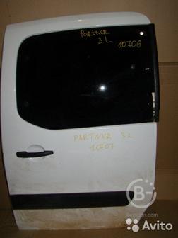 Дверь сдвижная Peugeot Partner 2