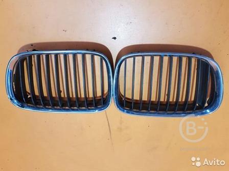 Решетка радиатора ноздря на BMW 5 E39