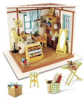 Набор для создания миниатюры/Румбокс: Кукольное ателье