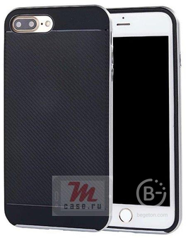 Чехол накладка TPU со съемным металлическим бампером для Samsung Galaxy J5   J510F (2016) (серебро)