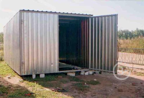 Металлоконструкции, гараж-пенал