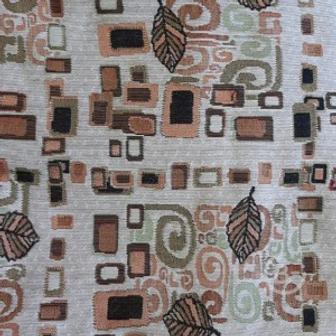 Ткань на отрез гобелен Жаккард 205,5 см С161-ЮА Аметист 71