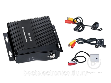 Комплект видеонаблюдения на 4 камеры (mdr - 210)