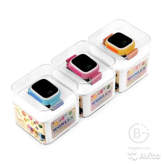 Часы Smart Baby Watch Wonlex GW100
