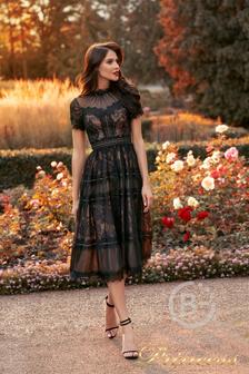 Вечернее платье №nf-17173-black