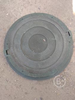 Люк для колодца полимерно-песчаный