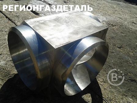 Тройник равнопроходный 250х250 ст.12Х18Н10Т ОСТ 95.53-98