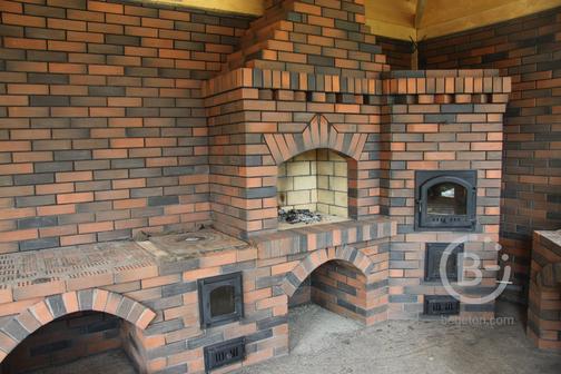Строительство барбекю комплексов, печей, каминов