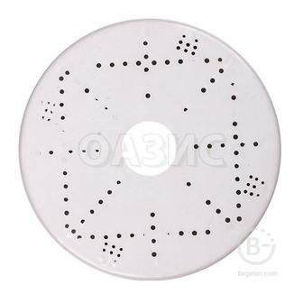 Платформа под люстру белая (круг) х 200мм.