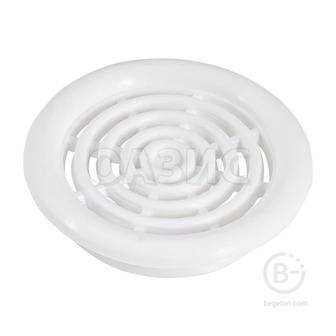 Решетка для вентиляции с кольцом 48