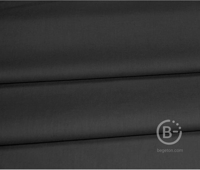 Бязь чёрная 120 гр 150 см Рулон