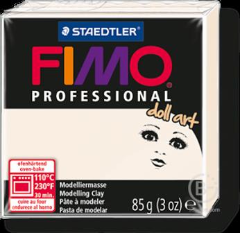 Пластика для изготовления кукол FIMO Professional Doll art 03 (полупрозрачный фарфор)