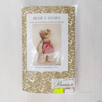 Набор для изготовления текстильной игрушки Bear's Story B003