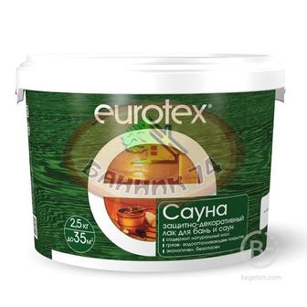 Огнебиозащита для бани и сауны EUROTEX-САУНА