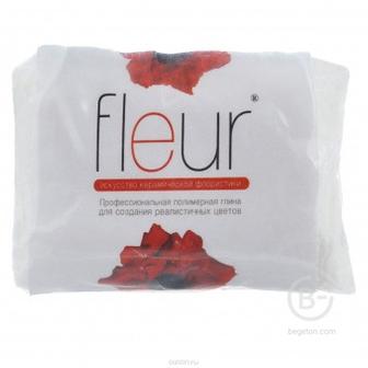 Самозатвердевающая полимерная глина для керамической флористики FLEUR