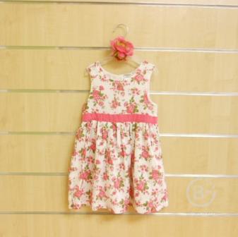 Платье Jacky летнее с розовыми розами