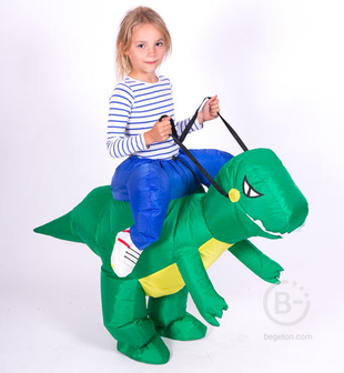 Надувной костюм Дракон детский