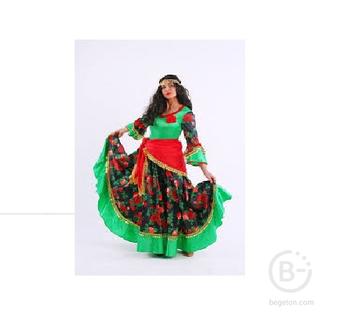 Карнавальный костюм Цыганка Роза р. 164-48